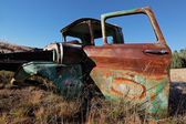 Rusty old pickup truck — Stock Photo