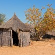 Rural African hut — Stock Photo