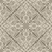 Vintage padrão sem emenda de vetor — Vetorial Stock
