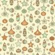 Vector Seamless Christmas Pattern — Stock Vector #13782374