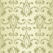 Vector Seamless Vintage Wallpaper Pattern - Stockvectorbeeld