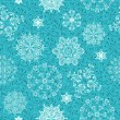 Vector Seamless Winter Pattern — Stock Vector