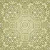Vintage seamless pattern floreale del vettore — Vettoriale Stock
