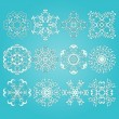 12 Vector Snowflakes — Stock Vector #14867547