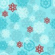 Vector Seamless pattern with Snowflakes — Stock Vector #15685017