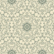 Royalty-Free Stock Vector Image: Vector Seamless Vintage Wallpaper Pattern