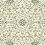 Vector Seamless Vintage Wallpaper Pattern — Stock Vector #16799661