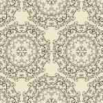 Vector Seamless Vintage Wallpaper Pattern — Stock Vector