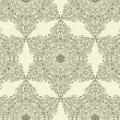 Vector Seamless Vintage Wallpaper Pattern — Stock Vector