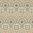 Vector Seamless Vintage Oriental Pattern — Vector de stock