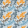 Vector seamless floral pattern — Stock Vector #23783725