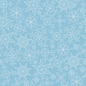Pattern with Snowflakes — ストックベクタ