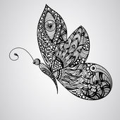 Vector Butterfly — Stock Vector