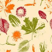 Seamless pattern floreale vettoriale — Vettoriale Stock