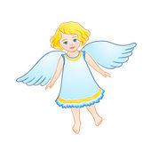 маленький ангел — Cтоковый вектор
