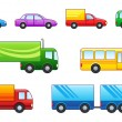 Motor transport - Stock Vector