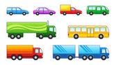 Transporte automóvel — Vetor de Stock