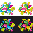 Colorful splashes — Stock Vector #2515800