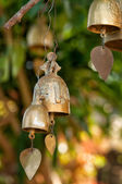 Buddhist wishing bells, Thailand — Stock Photo