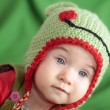 Stock Photo: Baby in funny hat