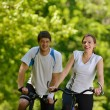 Young couple jogging — Stock Photo #12522394