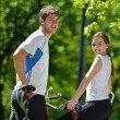 Young couple jogging — Stock Photo #12523514