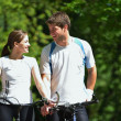 Young couple jogging — Stock Photo #12523568