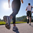 Young couple jogging — Stock Photo #12533417
