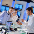 Stock Photo: Buy in consumer electronics store
