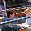 Business in a meeting at office — Stock Photo #13269889
