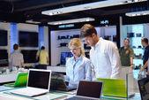 Kup w sklepie elektronicznym konsumentów — Zdjęcie stockowe