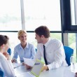 Business in a meeting at office — Stock Photo #13270089