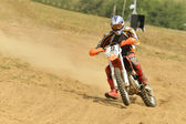 Motocross bike — Stock Photo