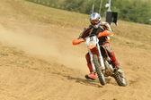 Motocross bike — Stockfoto