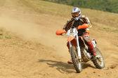 Motocross rowerowe — Zdjęcie stockowe