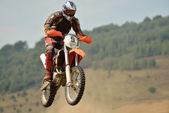 Motocross cykel — Stockfoto