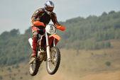 摩托车越野自行车 — 图库照片