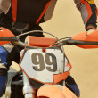 Motocross bike - Foto Stock