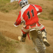 Stock Photo: Motocross bike