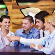 Business in a meeting at office — Stock Photo #14448781
