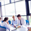 Business in a meeting at office — Stock Photo #14451421