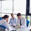Business in a meeting at office — Stock Photo #14451451