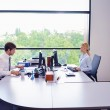 Business in a meeting at office — Stock Photo #14452395