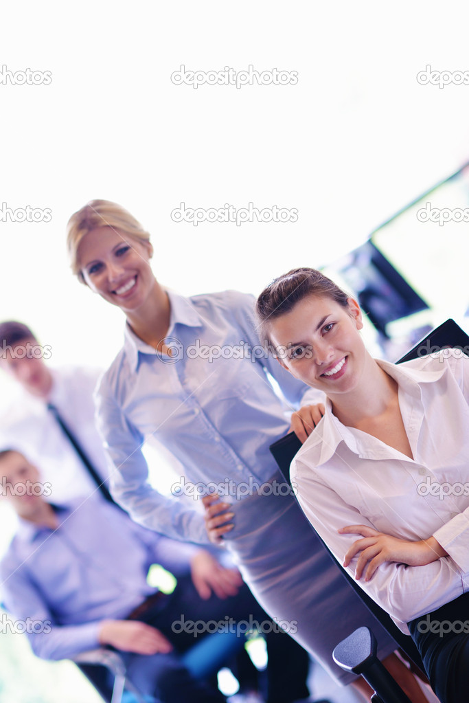 Business team  group  on a meeting have success and make deal — Stock Photo #14455291
