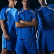 Soccer players team — Stock Photo #15715261