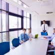 Stock Photo: Business in meeting at office