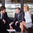 Business making deal - Foto de Stock