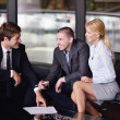 Business making deal — Stock Photo #15746601