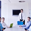 Business in a meeting at office — Stock Photo #15746775