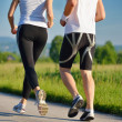 Couple jogging — Stock Photo #16789641